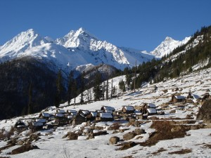 Humla in winter