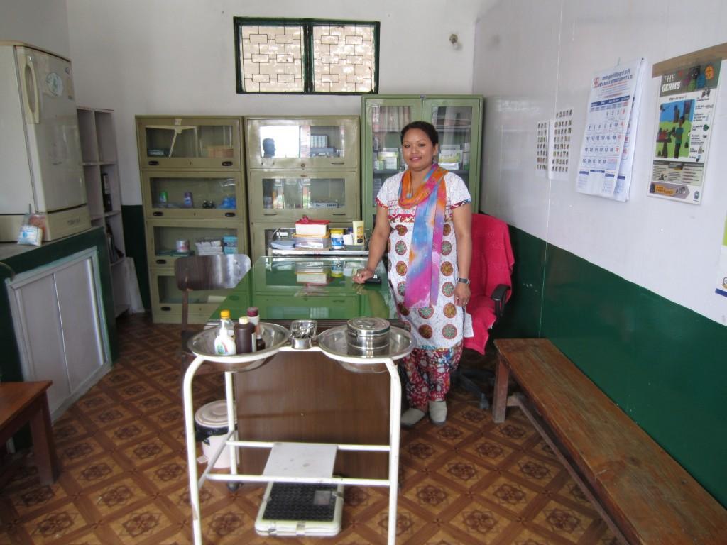 Infirmary at Buddha Academy